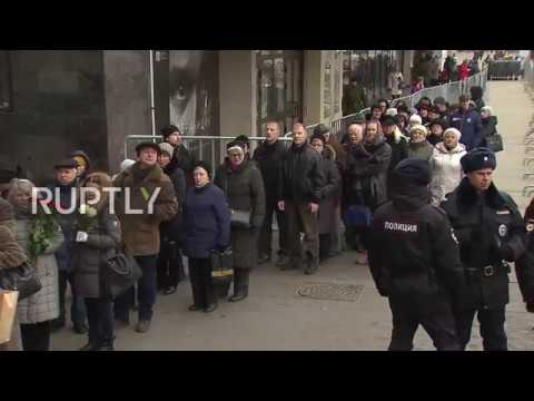Russia: Final farewell to opera legend Dmitri Hvorostovsky