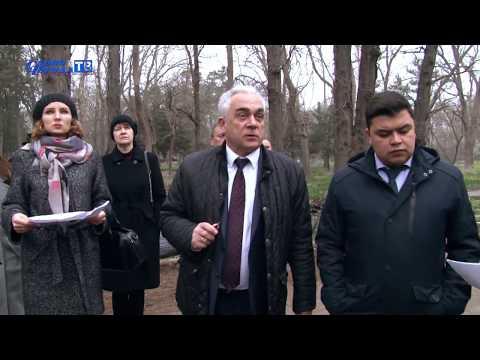 Глава администрации Сак осмотрел курортный парк - привью к видео Xzhgh9hm5x4