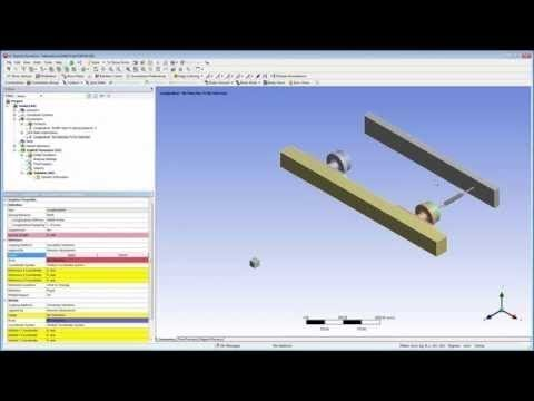 ANSYS Explicit Dynamics: Springs, Remote Displacement, and Parallel  Processing