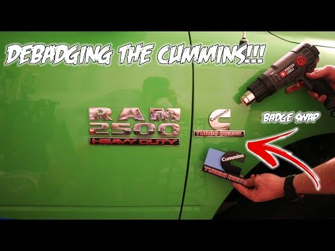How To Remove and Replace Emblems on Your Car/Truck!!! *Debadge*