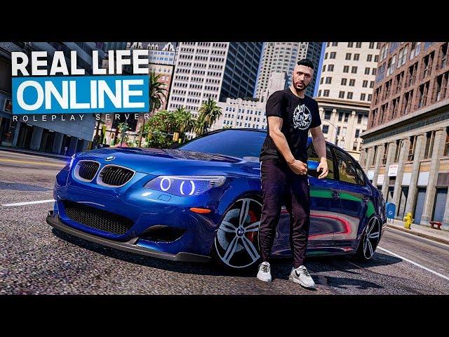 Bruder wir FLEXEN im BMW M5! 😲  - GTA 5 Real Life Online