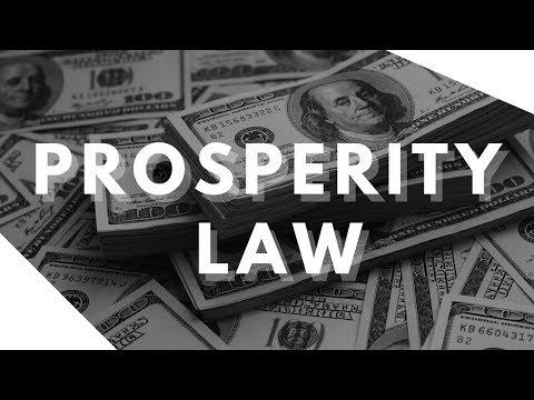 The Prosperity Law You Must Learn and Master! (Prosperity Secret!)