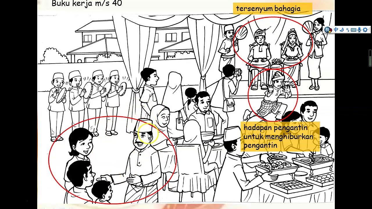 Unit 10 Bina Ayat M S 40 Suasana Majlis Perkahwinan Kaum Melayu