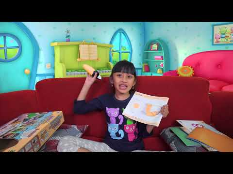 Belajar warna 2 bahasa untuk anak-anak bersama guru Mecca