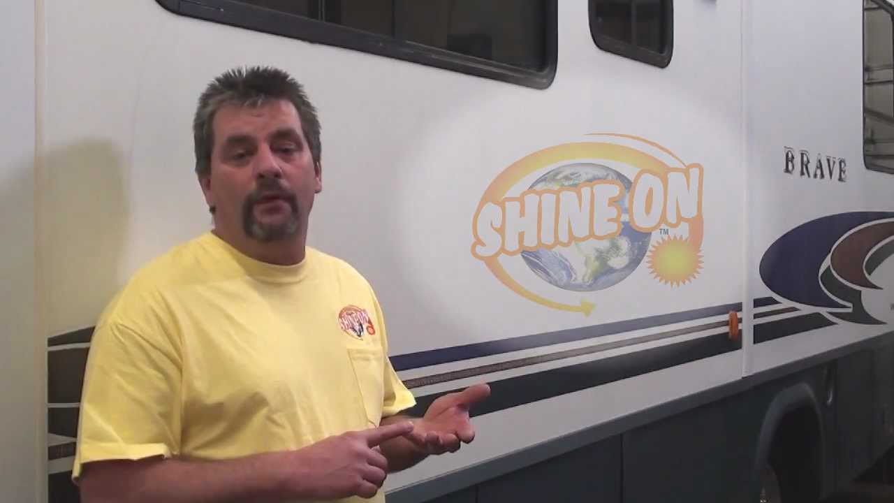 Wipe On Clear Coat RV's/Boats-NO BUFFING REQUIRED!