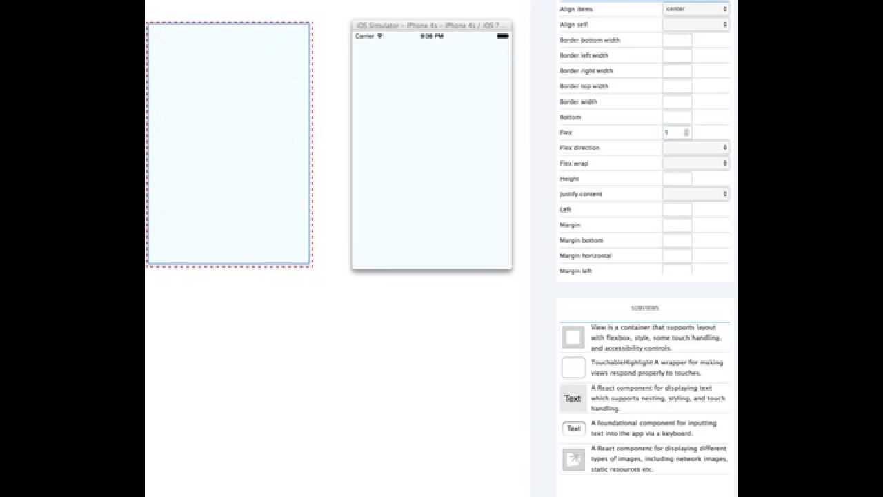 React Native Interface Builder