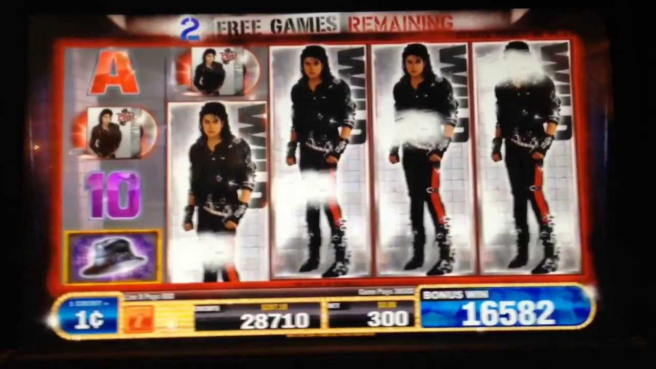Michael Jackson Slot Machine Online