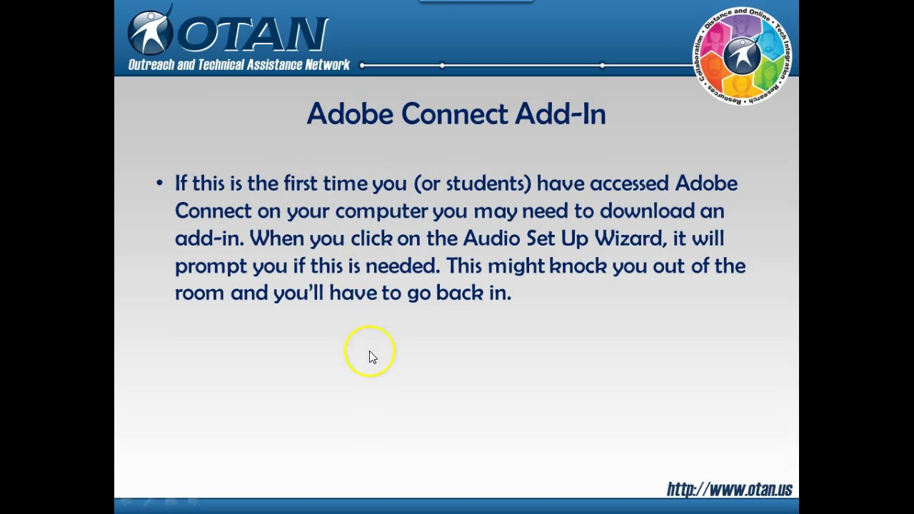 Adobe Connect in Moodle
