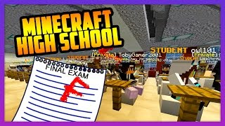 FINAL EXAMS! - MINECRAFT HIGH SCHOOL