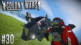 Space Engineers - Colony WARS! - Ep #30 - Gearing up!