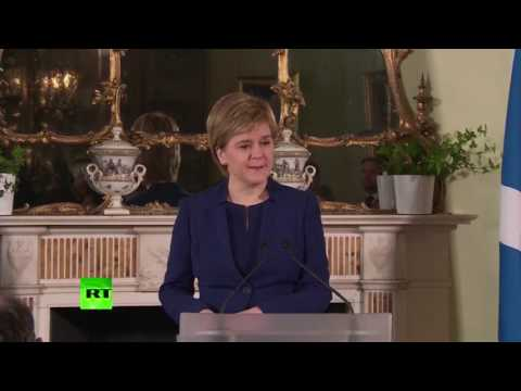 Nicola Sturgeon speaks on SNP's disappointing results
