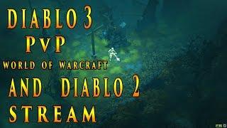 Запись стрима от 28.12.16 ► Diablo 3 PvP | World of Warcraft | Diablo 2 ► ( 2016 )(Запись стрима,на котором мы играли в Diablo 2, World of Warcraft Legion и закончили всё дуэлями в Diablo 3. Да! Оказывается,ПвП..., 2016-12-29T06:18:20.000Z)