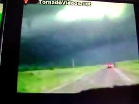 Tornado In MCCOOK  Nebraska Outbreak 6/20/11 ( 3D )