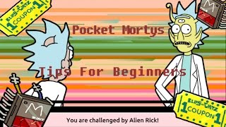 Pocket Mortys - Tips And Tricks For Beginners!