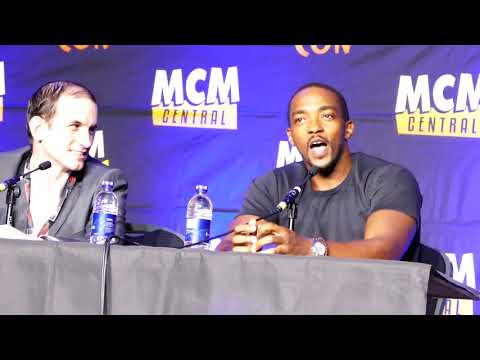 Anthony Mackie talks Infinity War, Tom Holland @MCM Comic Con London 2017 Press Panel