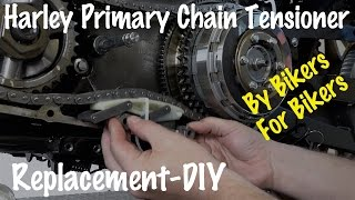How To Replace a Harley Primary Drive Auto Chain Tensioner | Motorcycle Podcast