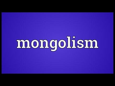 Header of mongolism