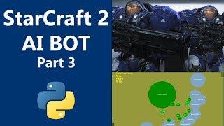 Machine Learning - StarCraft 2 Python AI part 3 - Build Marines