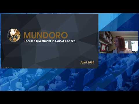 Teo Dechev  Of Mundoro Capital Inc. At The Virtual Metals Investor Forum On Thursday April 30,2020