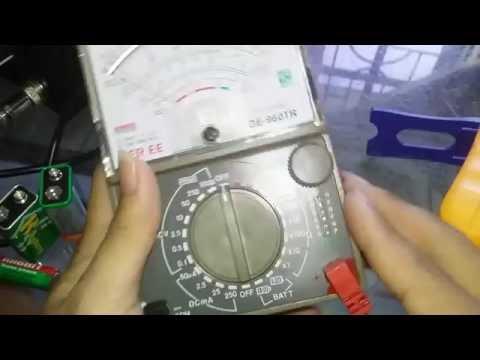 Hướng dẫn sử dụng đồng hồ đo dòng điện