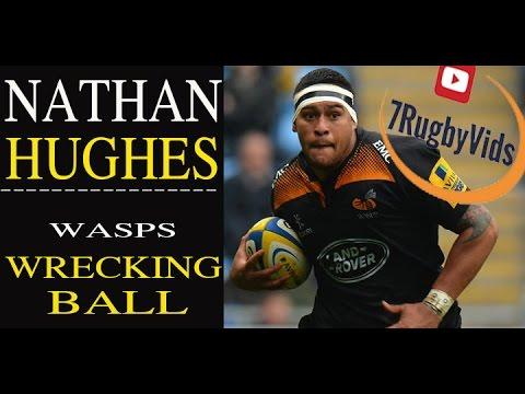 "Nathan Hughes Tribute 2015/2016   ""Wasps Wrecking Ball""  ""Collision king"""