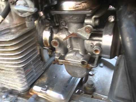 How to diagnose carburetor vacuum leaks on your motorcycle  YouTube