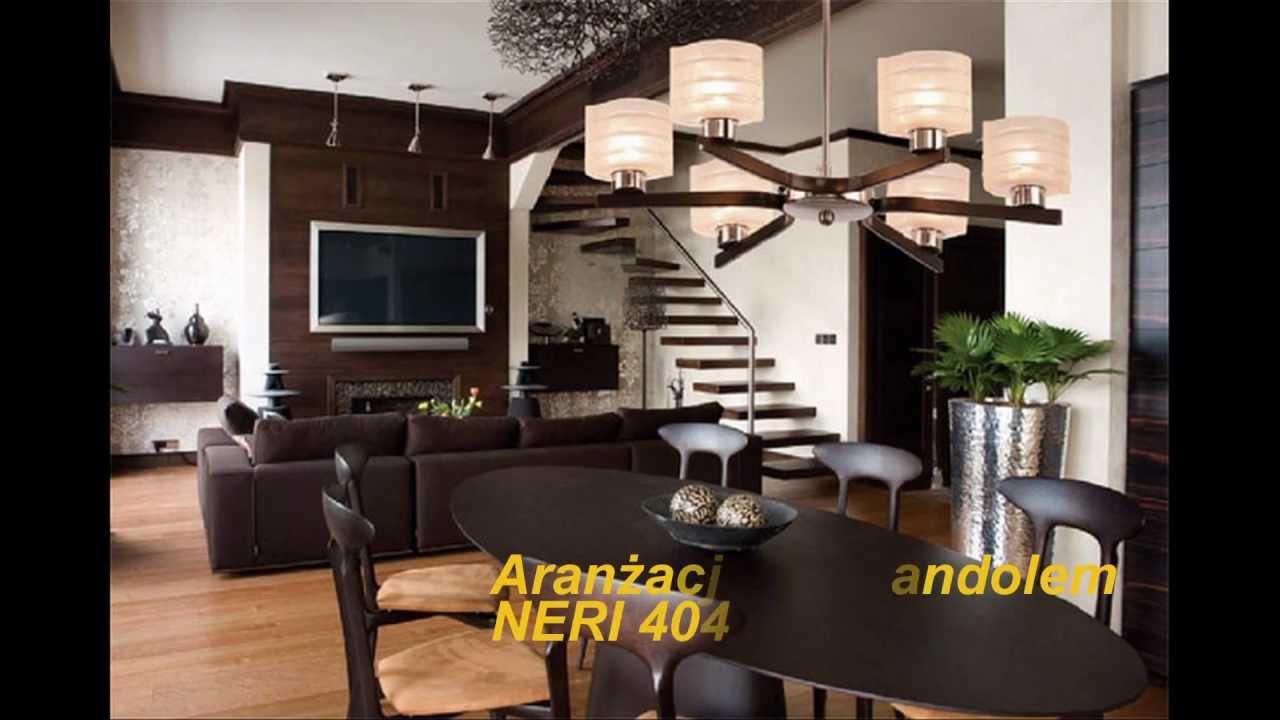 Aranżacje I Nowoczesne Projekty Wnętrz Oświetlenie Lampy żyrandole Kinkiety