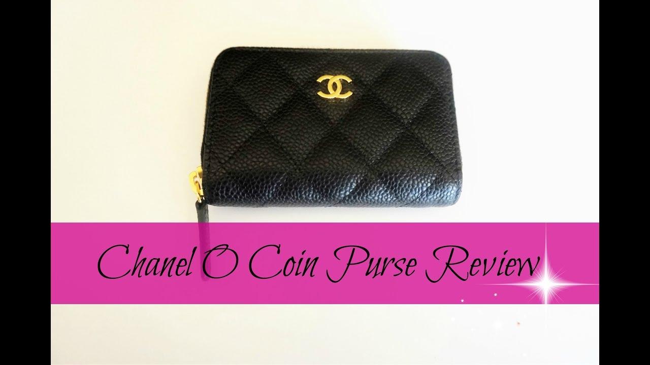 0424e68984ed Chanel O- Coin Purse Review - YouTube