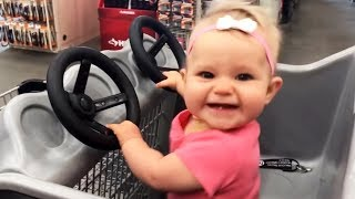 Shopping Is Always A Good Idea! - Cutest Baby Funny Fails Moments