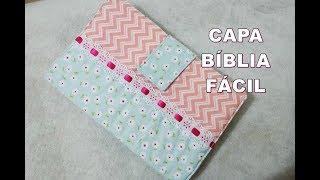 CAPA BÍBLIA com bolso e fecho – Atelie Greice Brigido