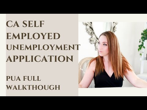 Pandemic Unemployment How To File CA Self Employed Unemployment Step By Step | EDD PUA Application
