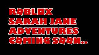 Roblox Sarah Jane Adventures Series 1 Trailer