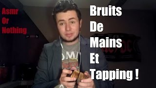 ASMR BINAURAL - BRUITS DE MAINS ET TAPPING ! (Hands sound, Tapping, Wood ) [HD]
