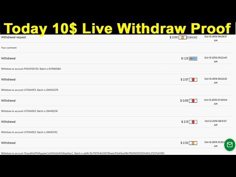 Most Trusted Bitcoin Investment Site 2019   Minimum Investment 1$   Instant Withdrawal Proof