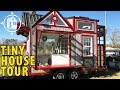 This TINY HOUSE was Built from Reclaimed Fire Truck Parts