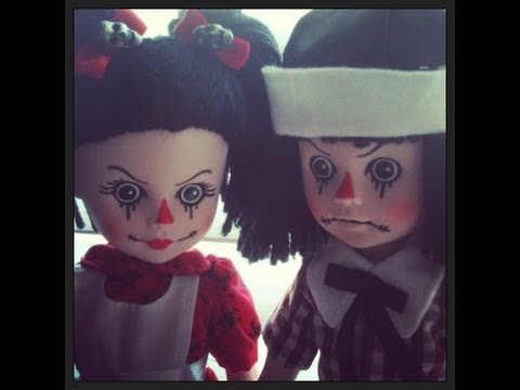 Living Dead Dolls Rotten Sam and Sandy