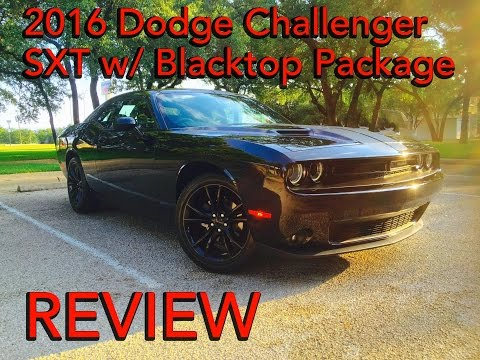 2016 Dodge Challenger SXT Interior + Exterior Review