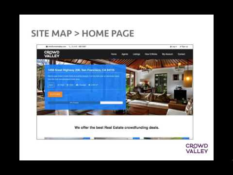 Building Real Estate platforms with the Crowd Valley API