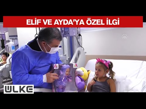 Sağlık Bakanı Koca, Depremzedelerin Hastane Odalarını Tek Tek Gezdi