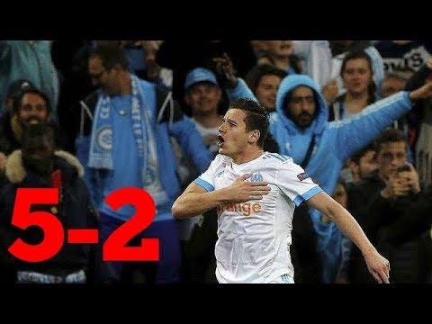 RÉsume marseille vs leipzig 5-2   europa league 2018