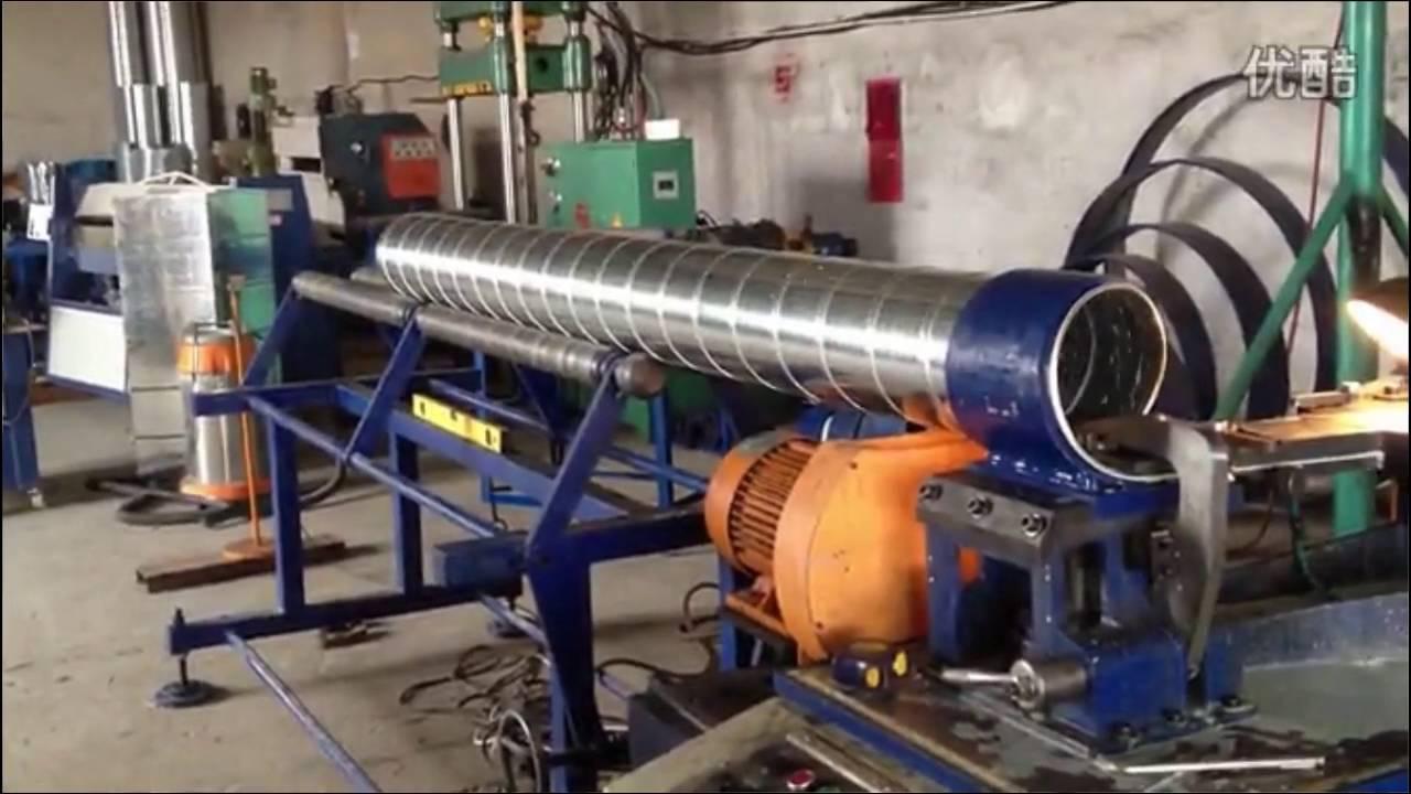 Spiral Duct Forming Machine Best Quality Spiral Tubeformer
