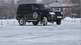 Дрифт на льду. Андрей Лунин.