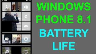 Windows Phone 8.1 - Battery Life Tips (Nokia Lumia)