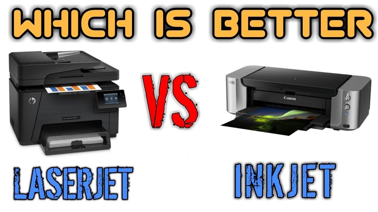 laserjet vs inkjet printer which is better which you should buy youtube. Black Bedroom Furniture Sets. Home Design Ideas
