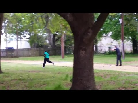 The Walter Scott Murder......a white police officer shooting and killing an unarmed black man.