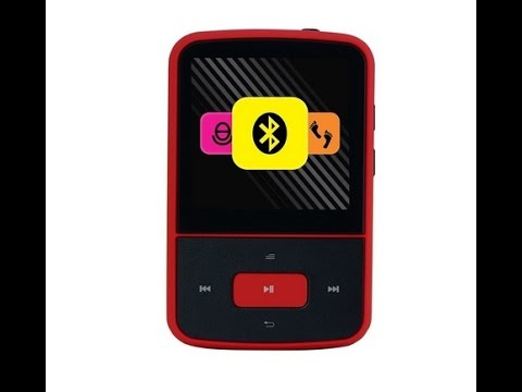 Crypto MP1500BT 8 GB MP4 Player mit FM Radio Bluetooth Micro-Sd Schrittzähler