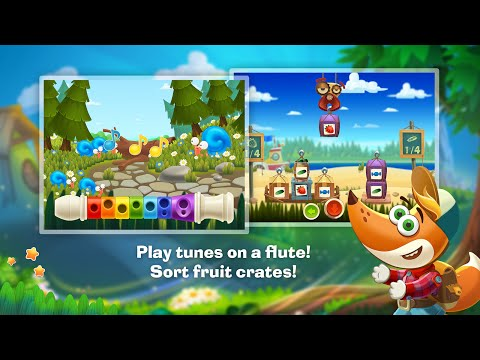 """Tim the Fox Travel """"Educational Brain Games""""Android Apps Gameplay Video """"For Children"""""""