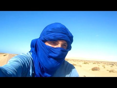 Cycling Sahara