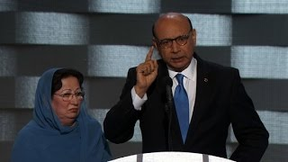 Dad of fallen Muslim soldier's powerful DNC speech (Khizr Khan full speech) by : CNN