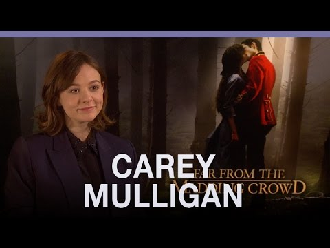 Carey Mulligan does not like singing in movies